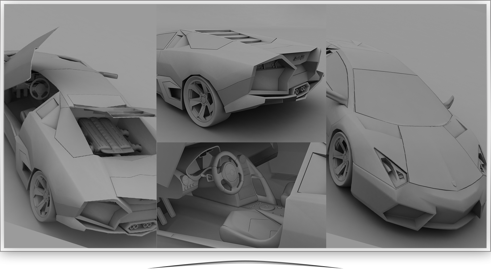3D Product / Car Modeling
